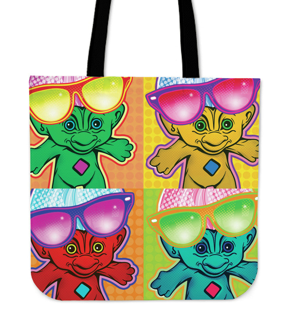 Colorful Troll Dolls Tote Bags I Offer