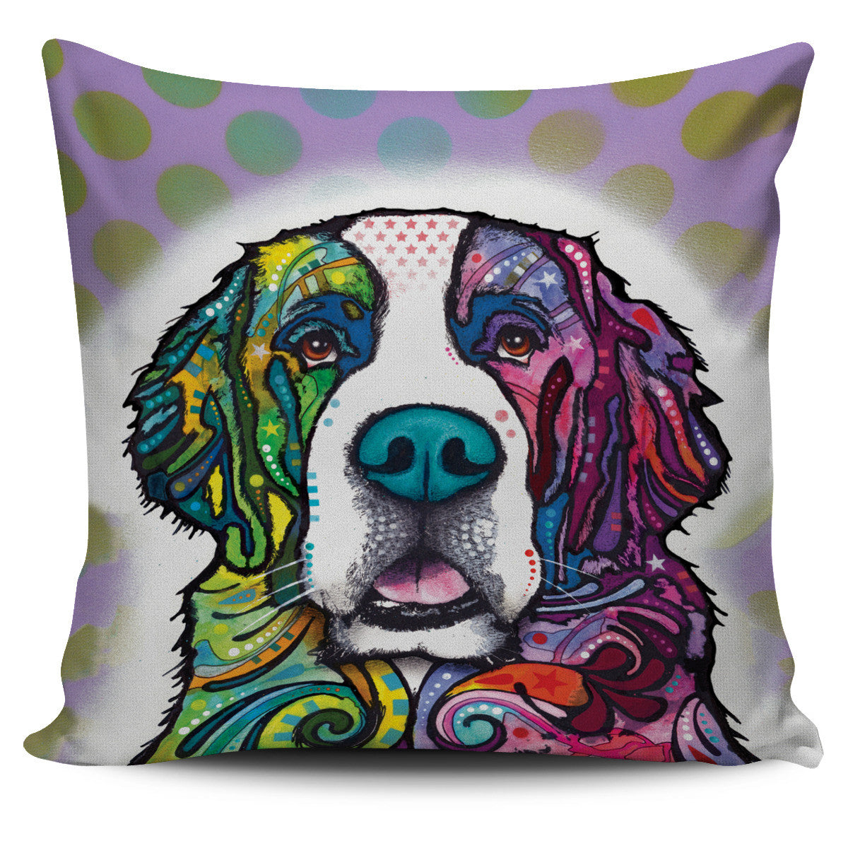 St. Bernard Pillow Covers Offer