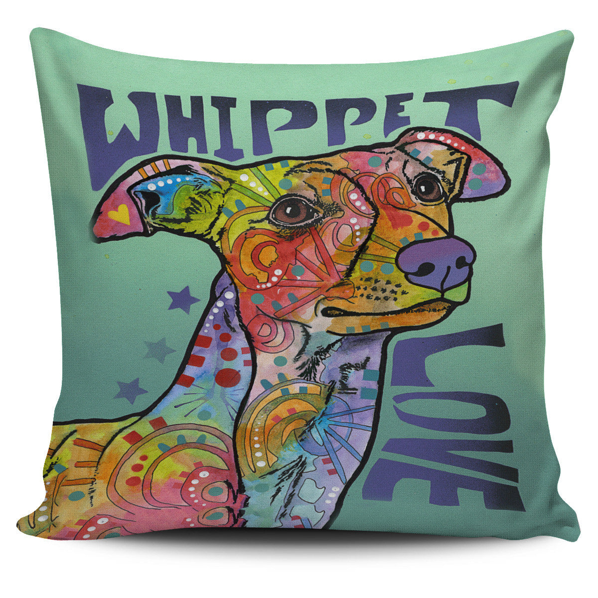 Whippet Love Pillow Covers
