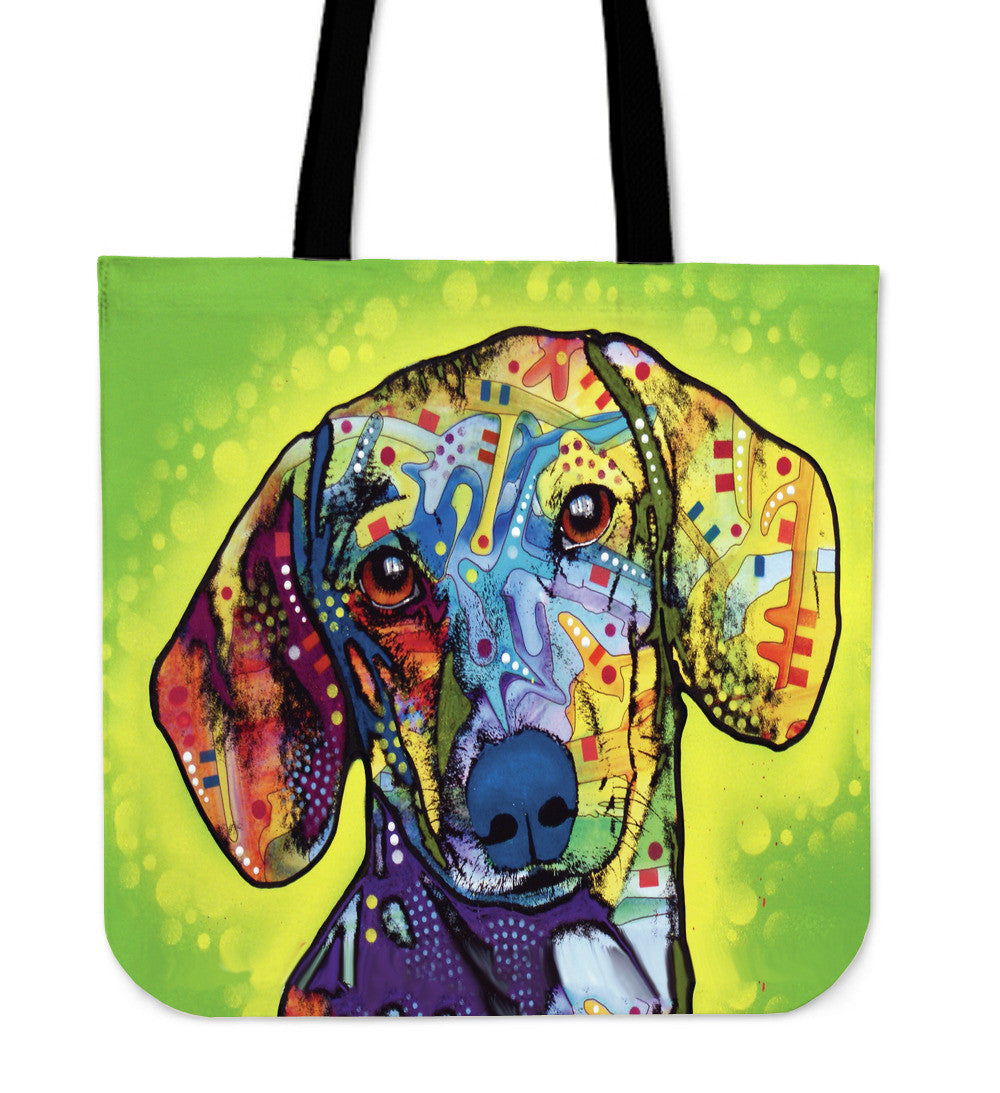 Dachshund Series Tote Bag