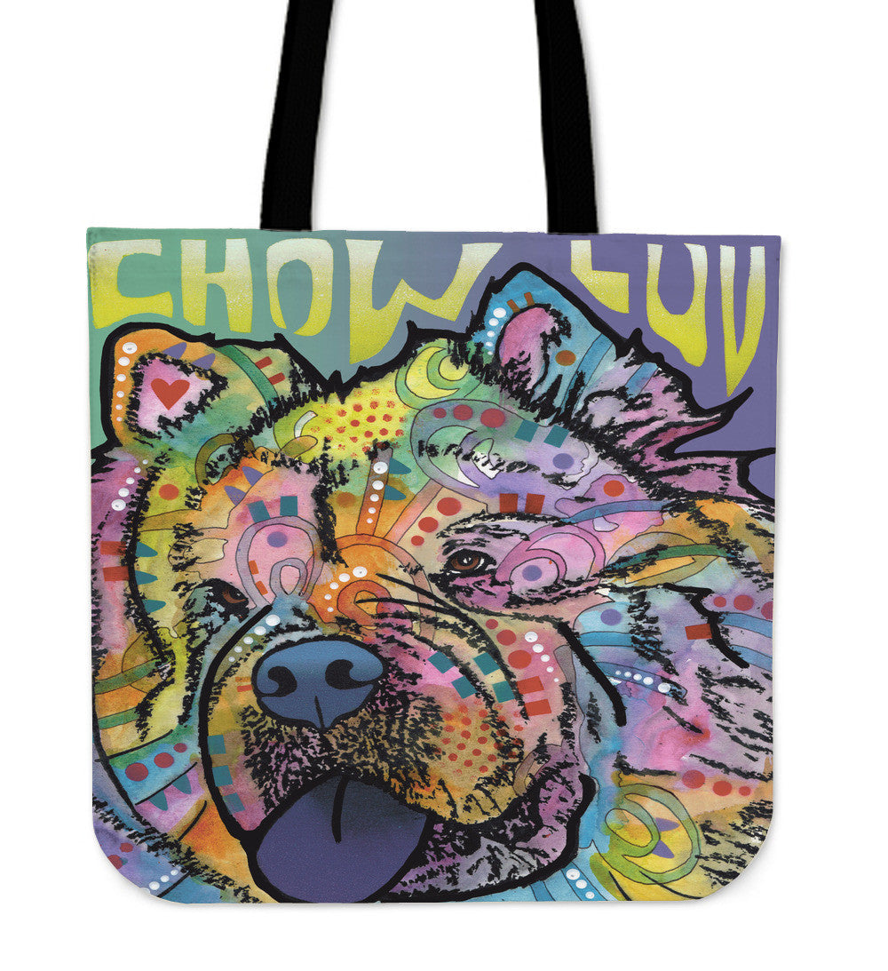 Chow Tote Bags