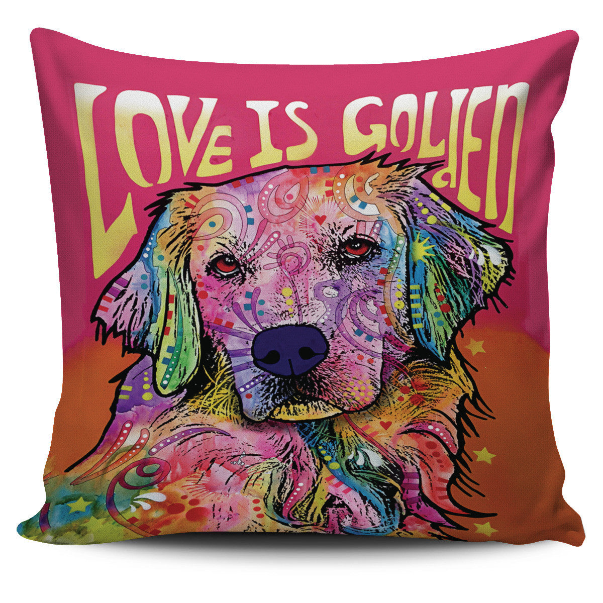 Golden Retriever Series Pillow Covers Offer