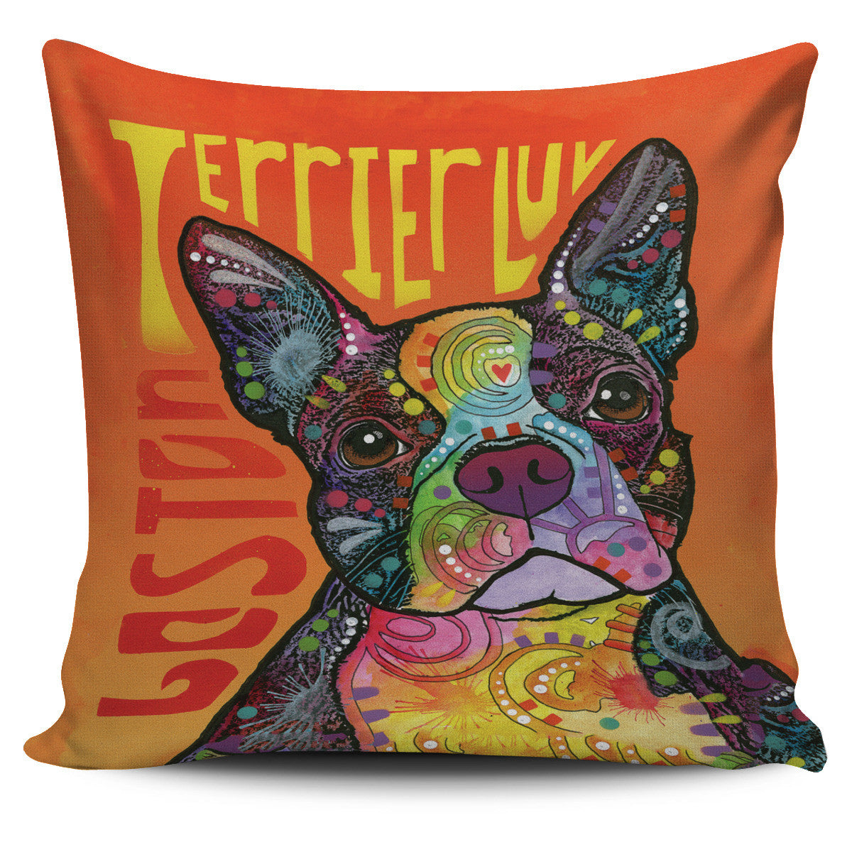 Boston Terrier Pillow Covers Offer