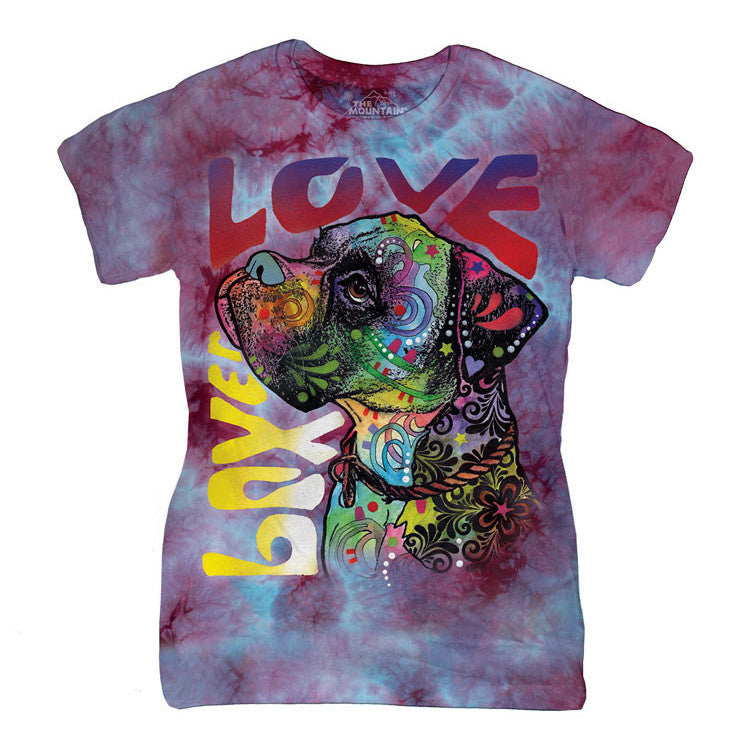 Boxer Luv Womens Shirt