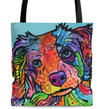 Australian Shepherd II Premium Tote Bag - The TC Shop
