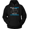 Not All Heroes Wear Capes Some Wear  Stethoscopes Hoodie - The TC Shop