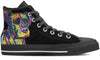 American Pit Bull Terrier Men's High Top Shoes #2