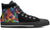 Australian Shepherd Men's High Top Shoes