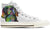 Beagle Women's High Top Shoes (WHITE)