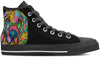 Bloodhound Men's High Top Shoes