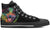 Border Collie Men's High Top Shoes