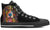Bernese Mountain Dog Men's High Top Shoes