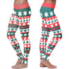 Boston Terrier Christmas Leggings
