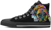 Boxer Women's High Top Shoes #2