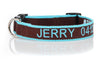 Product GiveAway - Custom Embroidered Bamboo Dog Collar - Offer