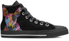 Bull Terrier Women's High Top Shoes