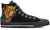 Bulldog Color Men's High Top Shoe