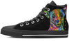 Chihuahua Men's High Top Shoes
