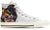 Collie Shepherd Women's High Top Shoes (WHITE)