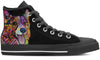 Corgi Men's High Top Shoes