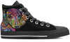 Dachshund Luv Men's High Top Shoes