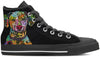 Dalmatian Men's High Top Shoes