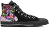 Doberman Men's High Top Shoes