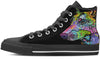 Doberman Luv Women's High Top Shoes