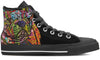 French Bulldog Men's High Top Shoes