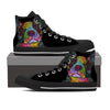 Boston Terrier Men's High Top Shoes