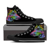 Doberman Luv Men's High Top Shoes