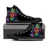 Mastiff Love Women's High Top Shoes (#1)