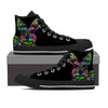 Scottish Terrier Men's High Top Shoes (#1)