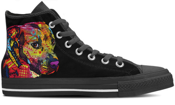 Pit Bull Men's High Top Shoes (#2)