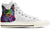 Australian Cattle Dog Women's High Top Shoes (WHITE)