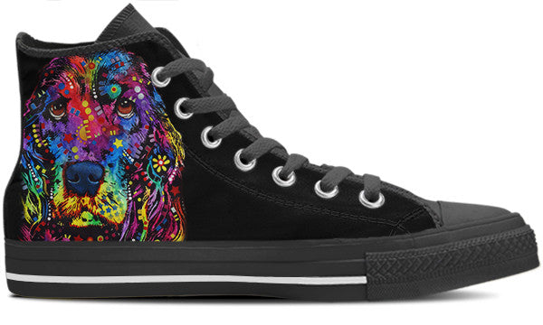 King Charles Men's High Top Shoes