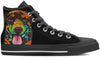 Rottweiler Men's High Top Shoes #2
