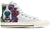 St. Bernard Women's High Top Shoes (WHITE)