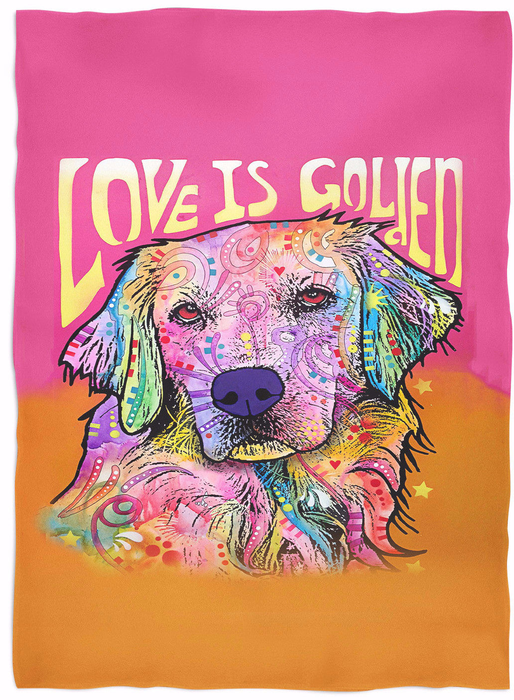 Golden Retriever Blankets