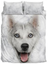 Husky Face Bedding Set