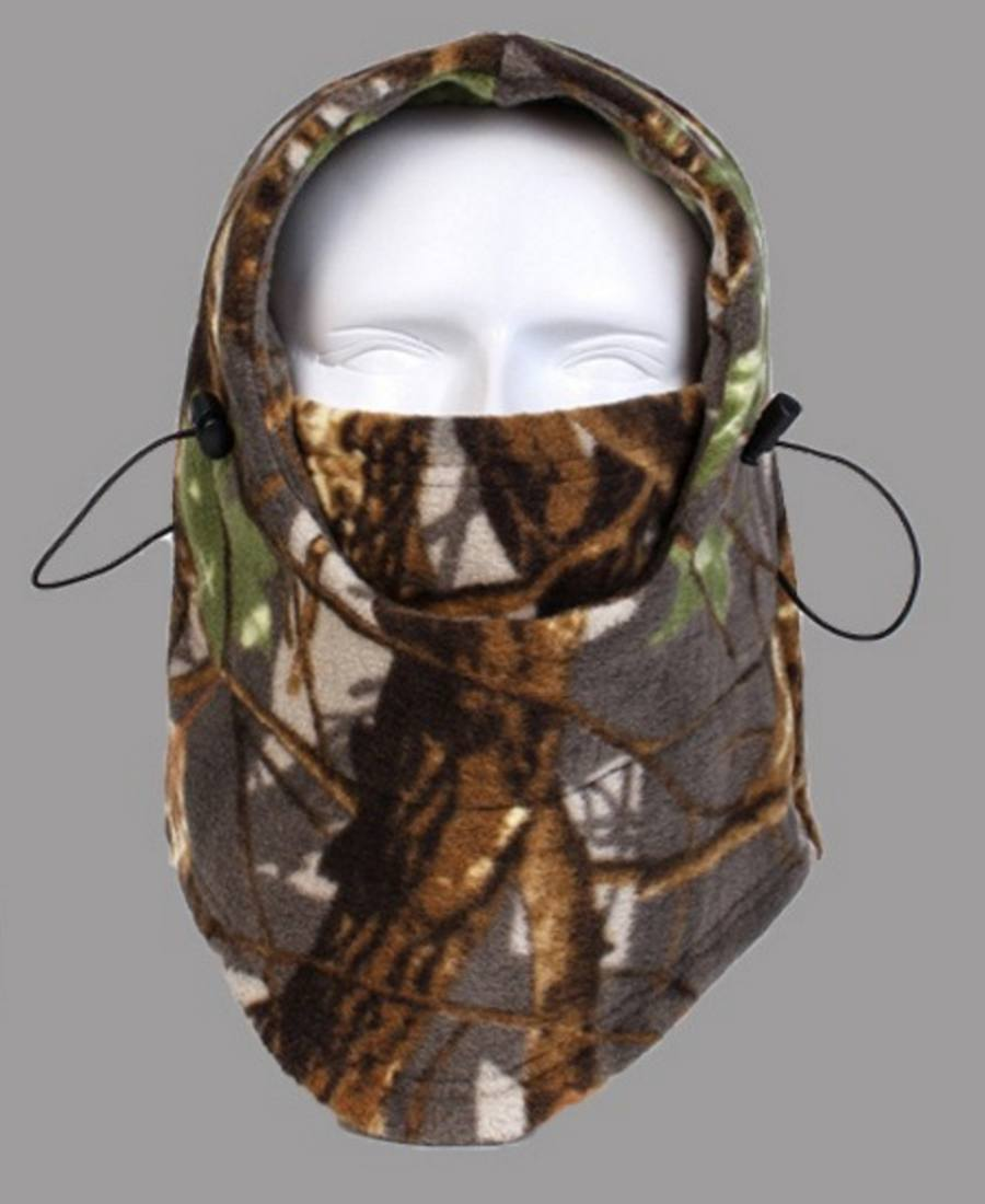 Mask GiveAway - Camo Thermal Fleece Face Mask Offer (9 Styles)
