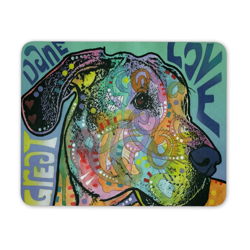Mousepads - Great Dane Love - Mouse Pad