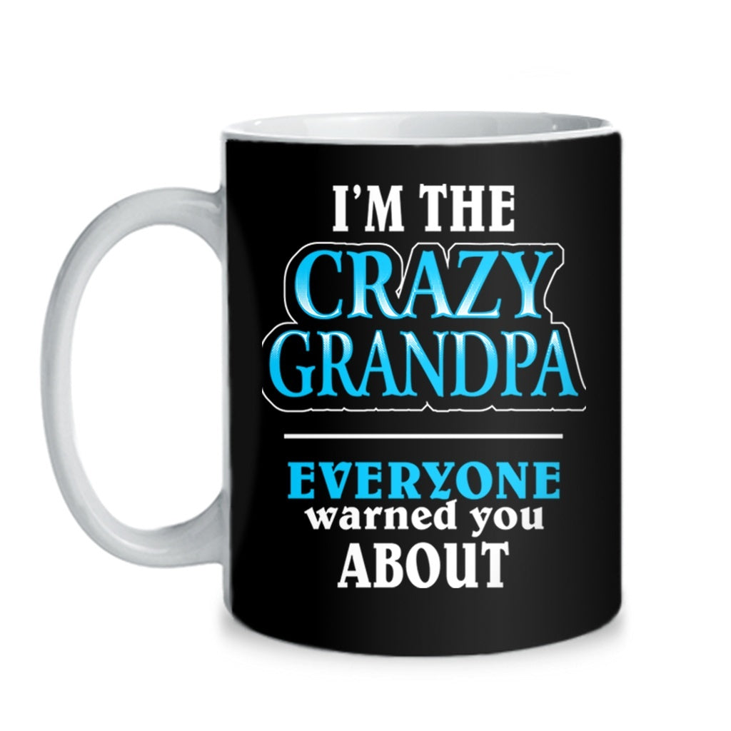 Mugs - CRAZY GRANDPA - MUG
