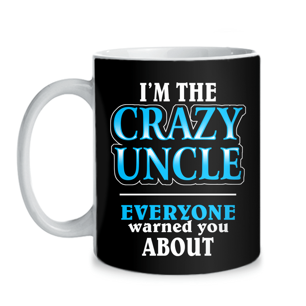 Mugs - CRAZY UNCLE - MUG