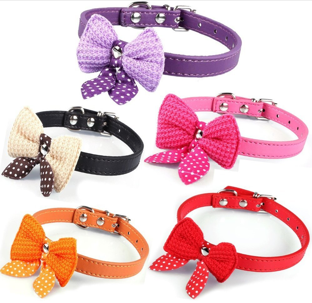Product Collar - Bowknot Dog Collars