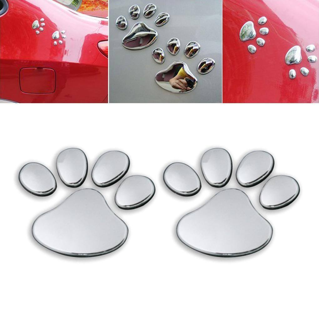Product Decal - Paw Print 3D Car Decal