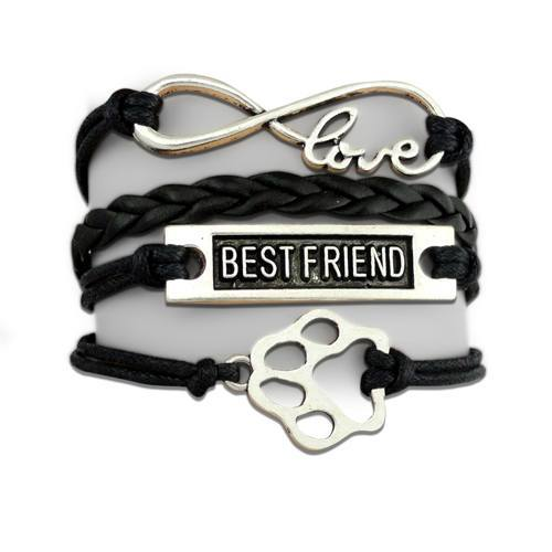 Product GiveAway - BF Infinity Puppy Bracelet - Black Offer