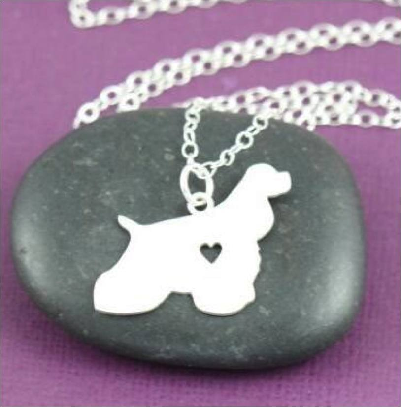 Product GiveAway - Cocker Spaniel Necklace Offer