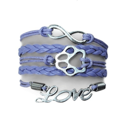 Product GiveAway - Infinity Puppy Bracelet - Lavender Offer