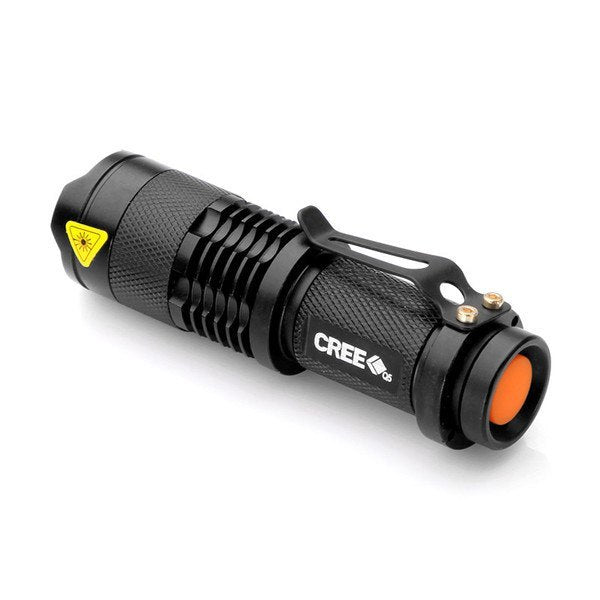 Product GiveAway - Mini Tactical Flashlight Offer